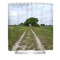 Loxahatchee Wildlife Refuge Shower Curtain