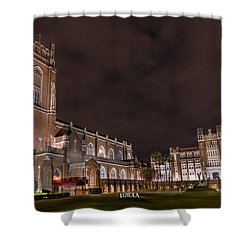 Shower Curtain featuring the photograph Loyola University New Orleans by Tim Stanley