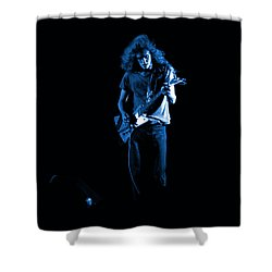 Ls Spo #25 In Blue Shower Curtain