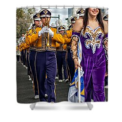 Lsu Marching Band 5 Shower Curtain by Steve Harrington