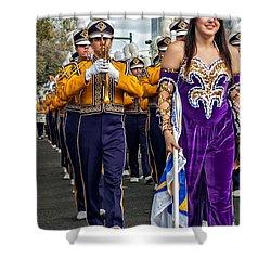 Lsu Marching Band 5 Shower Curtain by Steve Harrington