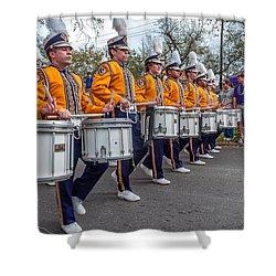 Lsu Tigers Band 4 Shower Curtain by Steve Harrington