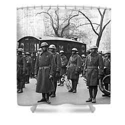 Lt. James Reese Europe's Band Shower Curtain by Underwood Archives