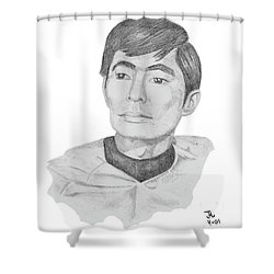 Lt. Sulu Shower Curtain