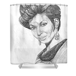 Lt. Uhura Shower Curtain