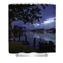 Lu Lu S Before The Storm Shower Curtain by Michael Thomas