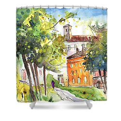 Lucca In Italy 02 Shower Curtain by Miki De Goodaboom