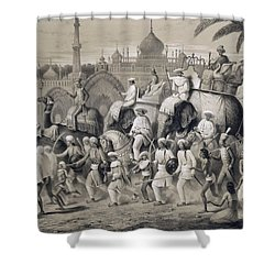 Lucknow, The Principal Street Shower Curtain by A Soltykoff