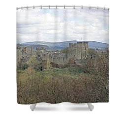 Ludlow Castle Shower Curtain
