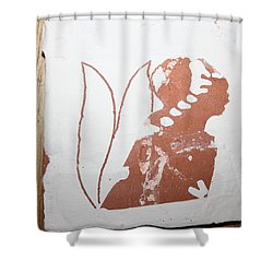 Luka - Tile Shower Curtain by Gloria Ssali