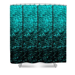 Shower Curtain featuring the photograph Luminescence 1a by Darla Wood