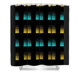 Shower Curtain featuring the digital art Luminescence 7a by Darla Wood
