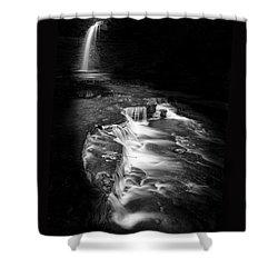 Luminous Waters Vi Shower Curtain