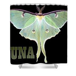 Luna 1 Shower Curtain by Mim White