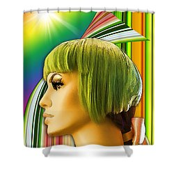 Luna Memories Shower Curtain by Chuck Staley