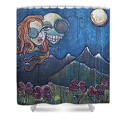 Luna Our Love Eternal Shower Curtain