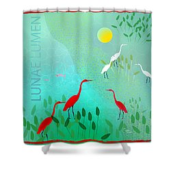 Lunae Lumen - Limited Edition Of 15 Shower Curtain