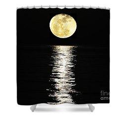 Lunar Lane 03 Shower Curtain by Al Powell Photography USA