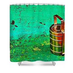 Lunch Box Shower Curtain