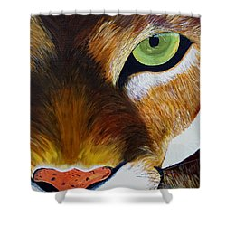 Lunch Shower Curtain by Donna Blackhall