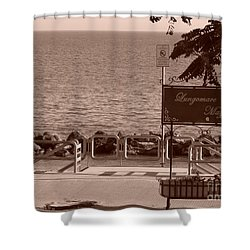 Lungomare Mazzini Shower Curtain