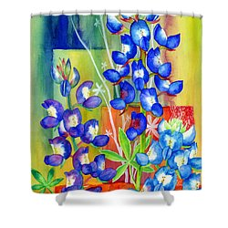 Lupinus Texensis Shower Curtain