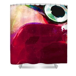 Lure Close 4 Shower Curtain