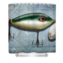 Lure I Shower Curtain by April Moen
