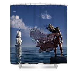Lure Of The Siren... Shower Curtain