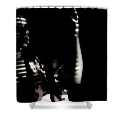 Shower Curtain featuring the photograph Lurid  by Jessica Shelton