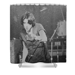 Shower Curtain featuring the photograph lux by Steven Macanka