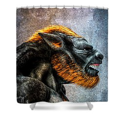 Lycan Shower Curtain by Bob Orsillo