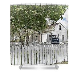 Lydia Leister Farm - Civil War Hospital Shower Curtain by Dyle   Warren
