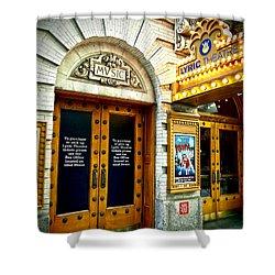 Lyric Theatre - Music Shower Curtain