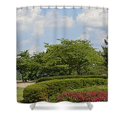 Lytle Park Cincinnati Shower Curtain
