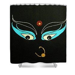 Maa Kali II Shower Curtain