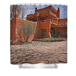 Mabel Dodge Luhan House  Shower Curtain by Charles Muhle
