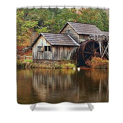 Mabry Mill Shower Curtain by Marcia Colelli