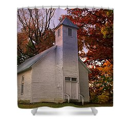 Macedonia Missionary Baptist Church Shower Curtain by Chris Flees