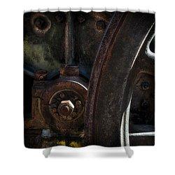 Mechanical Pareidolia  Shower Curtain
