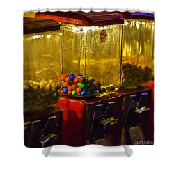 Machines Shower Curtain