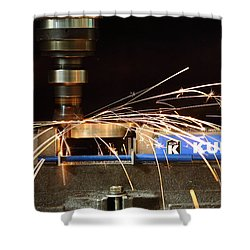 Machining Shower Curtain