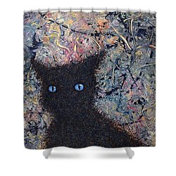 Machka Memory Shower Curtain by James W Johnson