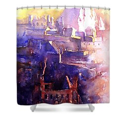 Machu Pichu- Peru Shower Curtain