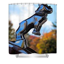 Mack Bulldog Shower Curtain