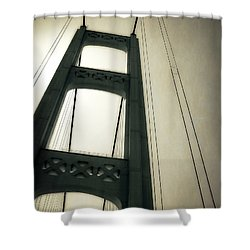 Mackinac Bridge 2.0 Shower Curtain