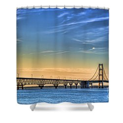Mackinac Sunset Shower Curtain