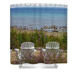 Mackinac View Shower Curtain