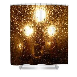Macro Lights Shower Curtain