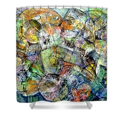 Flotsam 2 Shower Curtain by Jim Whalen